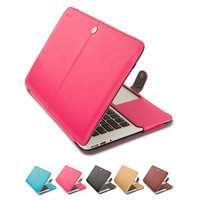 Mosiso Portable Soft  PU Leather Women Sleeve Case Cover for Macbook Air 11 13 inch lady Laptop Case A1370  A1465 A1369 A1466