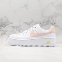 Nike Wmns Air Force 1 Sage Low White/ Pink Sneakers