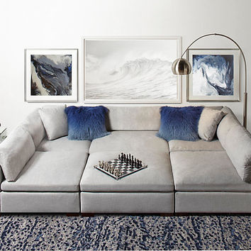 Naples Sectional | Naples Modular Sectional Collection | Furniture Collections | Collections | Z Gallerie