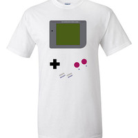 Funny Gameboy T-shirt Tshirt Tee Shirt Video Games Gamer Controller Retro Christmas Gift for Boyfriend NES Geek Old School Gift for Teen