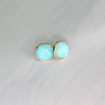 Opal Domes In Gold