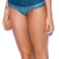 Medallion Lace Trim Hipster Panty - PINK - Victoria's Secret
