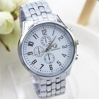 Mens Watches Top Brand Luxury Quartz Watch Fashion Stainless steel watches for men relogios masculinos
