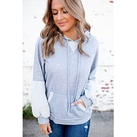 Free Spirited Hoodie (Grey) FINAL SALE