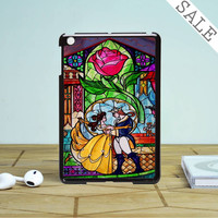 Beauty And The Beast Stained Glass iPad Mini 2 Case