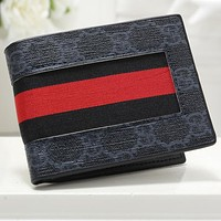 Gucci Fashion Leather Wallet Purse