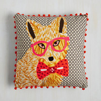 Dorm Decor Mr. Nice Guise Pillow by Karma Living from ModCloth