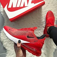 Nike Air Max 270 aggregate men and women Gym shoes 9 colors