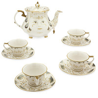 Beauty and the Beast Limited Edition Fine China Tea Set - Live Action Film   Disney Store