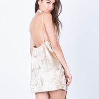 The Velvet Party Dress