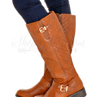 Ready For Anything Boots- Tan