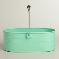 Mint Housekeeping Utility Bucket - World Market