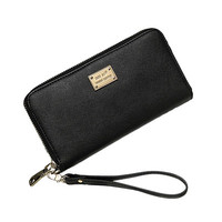 Women Wallets Purses Double Clutch Purse Wristlet Handbags Small Bag Card Holder Carteira Feminina CF