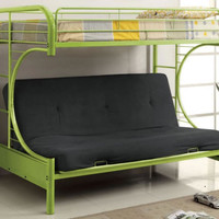 Cece Twin over Futon Bunk Bed