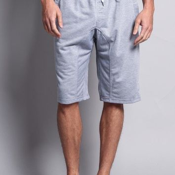 SP Active Basic Solid Jogger Shorts