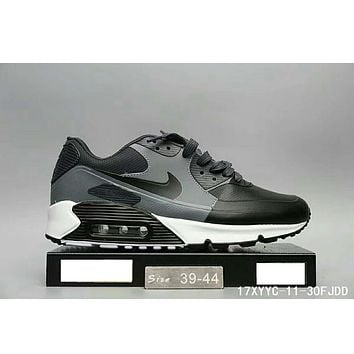 Nike MAX 90 ULTRA AIR and waffle new sports shoes F-HAOXIE-ADXJ Black