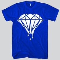 Diamond Dripping Unisex T-shirt Funny and Music