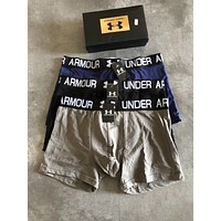 Under Armour Men Briefs Shorts Underpants Male Cotton Underwear