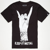 Fatal Keep It Mens T-Shirt Black  In Sizes