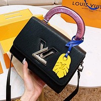 LV Louis Vuitton Women Shopping Bag Leather Handbag Tote Shoulder Bag Crossbody Satchel