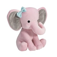 Bedtime Originals Twinkle Toes Elephant Plush - Pink