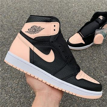 Air Jordan Retro 1 High OG Crimson Tint 555088-081