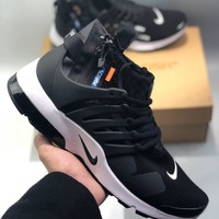 OFF-WHITE x Nike Air PRESTO Men's and women's cheap nike shoes