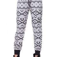 LA Hearts Printed Jogger Pants - Womens Pants - Tribal