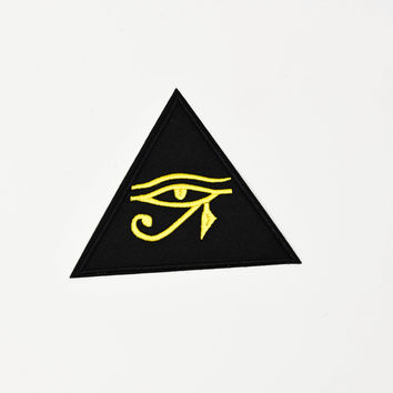 Eye Of Horus Occult Iron On Patch