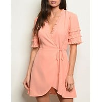 Always In My Heart Dress in Pink