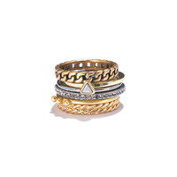 Chainlink Stacking Rings