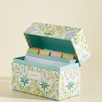 Garden of Eaten Recipe Card Box