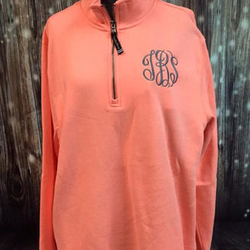 Charles River Quarter Zip Sweatshirt