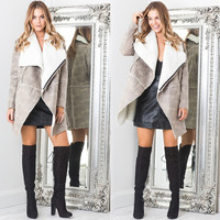 Ladies Autumn Coat Stylish Jacket [9430870788]
