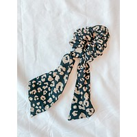 Wild Night Leopard Scrunchie Scarf