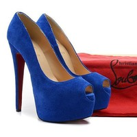 CL Christian Louboutin Fashion Heels Shoes-38