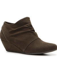Blowfish Leche Wedge Bootie