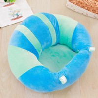 Cute Soft Baby Seats Sofa Blanket Cushion Baby Learning To Sit Chair 35*35 cm PP cotton Support Baby Seat baby toddler sitting