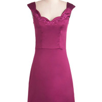This Magenta Moment Dress | Mod Retro Vintage Dresses | ModCloth.com