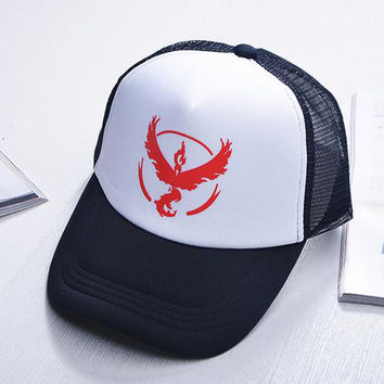 Team Valor Team Mystic Team Instinct Pokemon Cap
