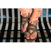 The Grace Sandals - Brown