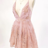 Summer Romance Dress (Blush)