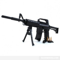 M16 Assault Rifle - Lego Compatible