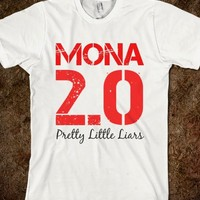 Mona 2.0 (Red) - Elle Accessories: Pretty Little Liars Collection