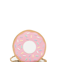 Donut Lover Faux Leather Bag