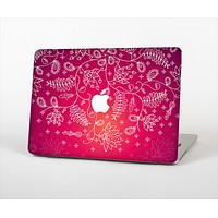"""The Vibrant Pink & White Branch Illustration Skin Set for the Apple MacBook Air 13"""""""