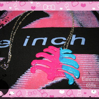 ON SALE - NIN - Rib Cage - Necklace