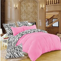 LILIYA Hot Bedding Set New Syle High Quality Bedding Sets Flat Sheet Quilt Cover Pillow Case Bed Linens Deisiner Duvet Cover#BM-