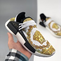 Adidas HUMAN RACE NMD Philippine Dong joint human knitting fashion trend casual sports shoes men and women