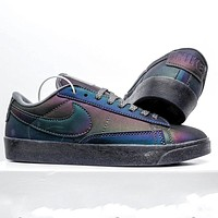 Nike Blazer Low New Laser Women's Wild Low-Top Sneakers Shoes